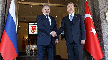 Рабочий визит министра обороны России С.Шойгу в Анкару