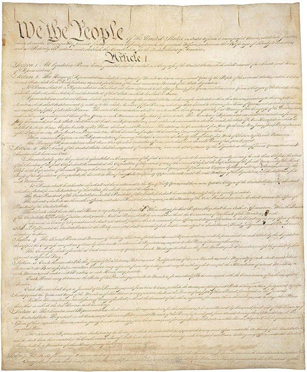 Конституция Соединённых Штатов Америки