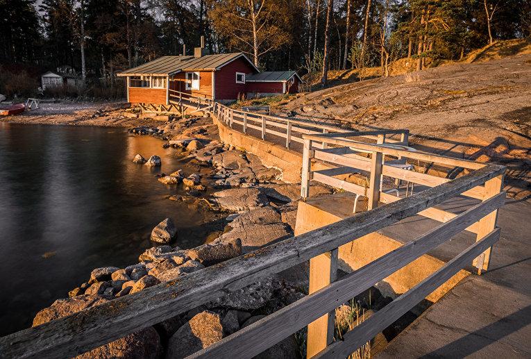 Дом на берегу моря в Хельсинки, Финляндия