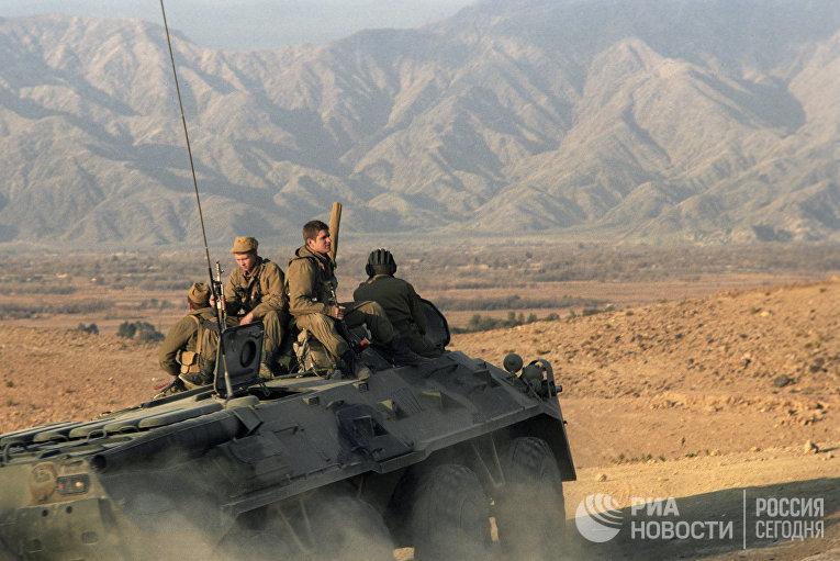 Пребывание ограниченного контингента советских войск в Афганистане