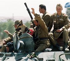 Начался поэтапный вывод ограниченного военного контингента советских войск из Афганистана