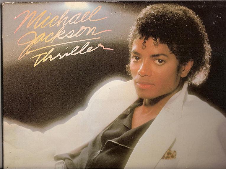 "Альбом Майкла Джексона ""Thriller"""