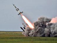 Ракетные учения в Херсонской области