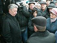 Встреча кандидата в президенты Украины Ю. Бойко с избирателями