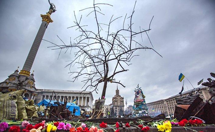 Обстановка в центре Киева