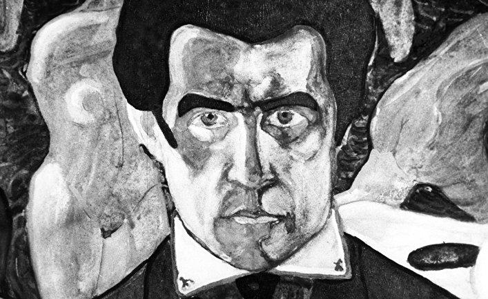 Репродукция Казимира Малевича'Автопортрет