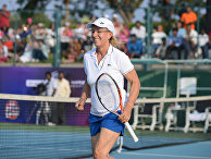Чехословацкая и американская теннисистка Мартина Навратилова