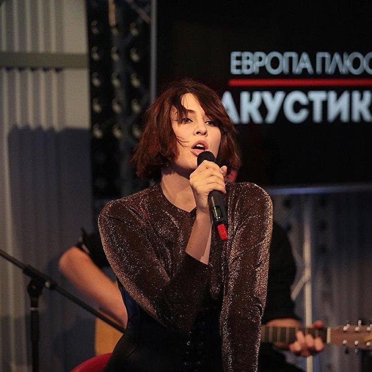 Украинская певица Анна Корсун, известная как Maruv