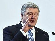 Предвыборная поездка П. Порошенко во Львовскую область