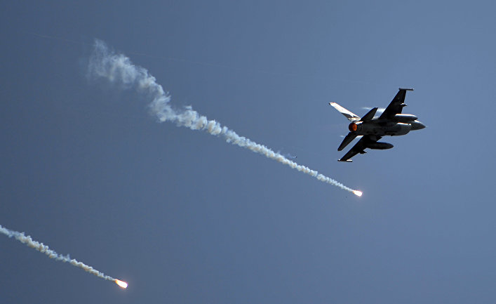 Пакистанский истребитель F-16