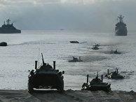 Учения Балтийского флота