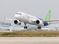 Китайский пассажирский самолет Comac C919