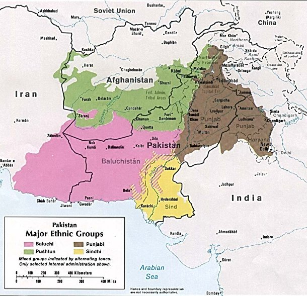 Этническая карта