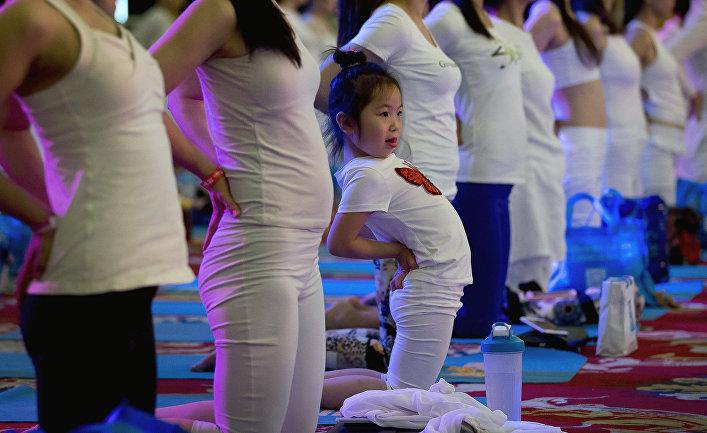Международный день йоги в Пекине
