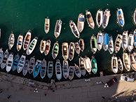 Катера в бухте Балаклавы в Крыму