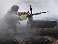 Тактические учения с десантированием в Приморье