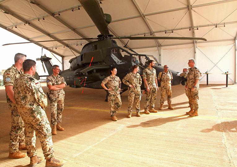 Солдаты бундесвера в африканском Мали