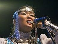 Участница якутского ансамбля Айархаан