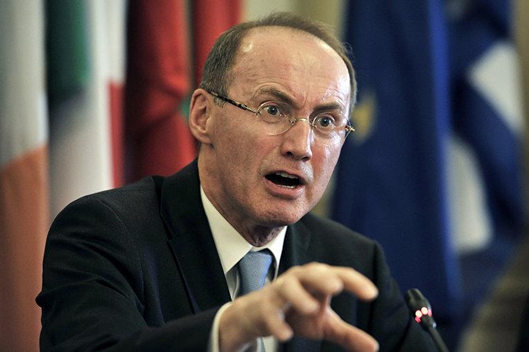 Австрийский политик и евродепутат Отмар Карас
