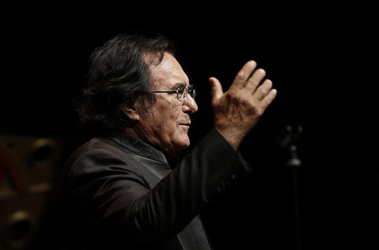 Итальянский певец Аль Бано Карризи