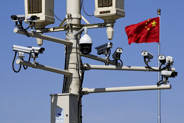 Камеры слежения в Пекине, Китай