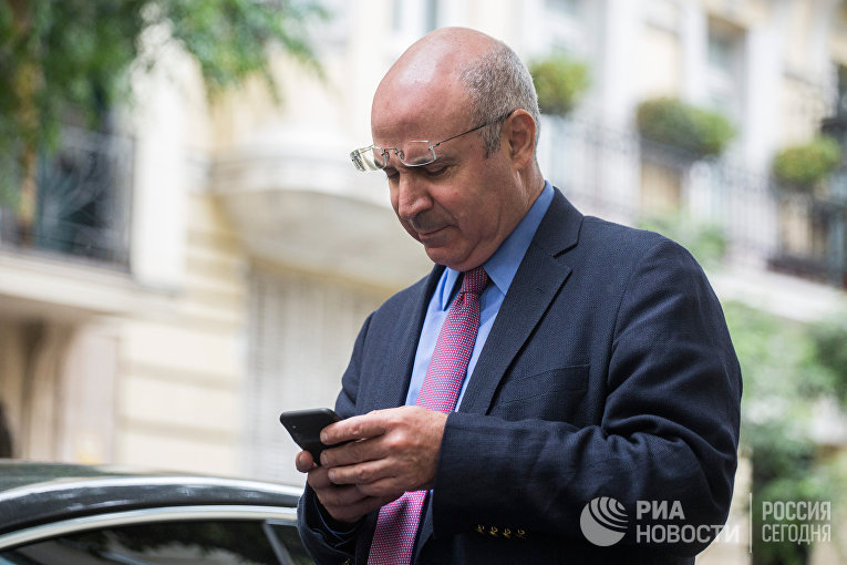 Уильям Браудер после посещения офиса прокурора в Мадриде. 30 мая 2018