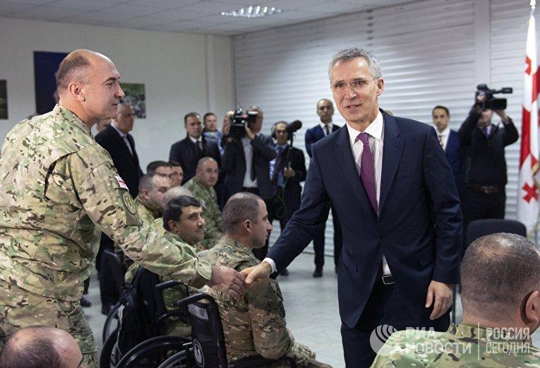 Учения НАТО в Тбилиси