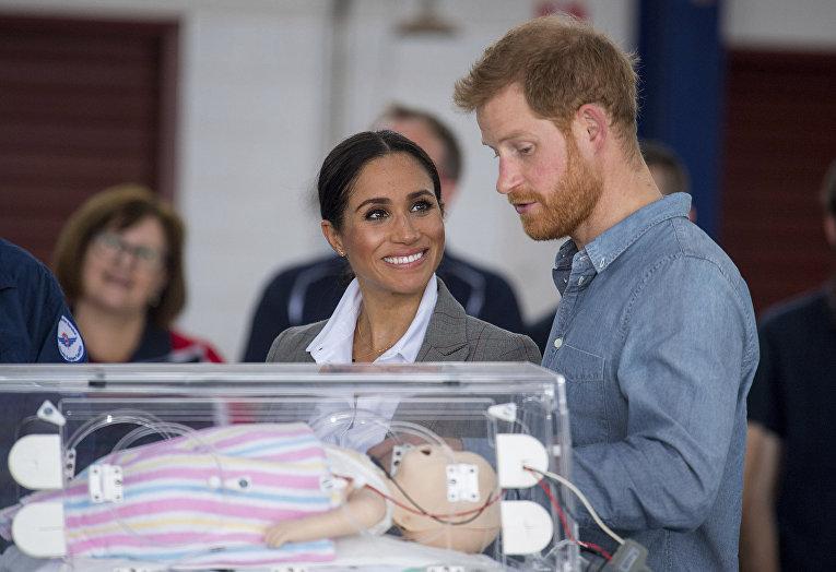 Герцогиня Сассекская Меган и британский принц Гарри