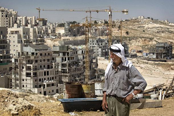 Строительство жилого комплекса в Восточном Иерусалиме