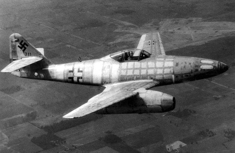 Немецкий турбореактивный истребитель Messerschmitt Me.262