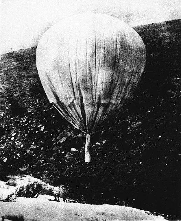 2 июля 1945 года. Японская шар-бомба над штатом Нью-Йорк
