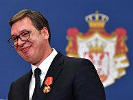 Президент Республики Сербии Александр Вучич