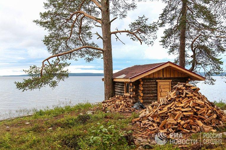 Онежское озеро в Карелии