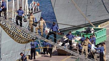 Корабли НАТО вошли в порт Одессы