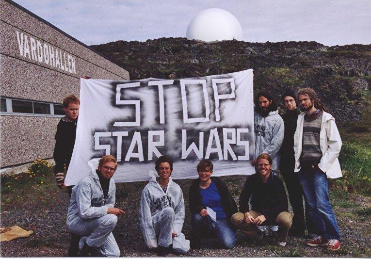 Протесты против радара в Вардё, Норвегия