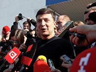 Украинский актер и кандидат в президенты Владимир Зеленский