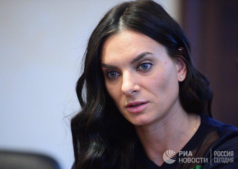 Е. Исинбаева покинула пост главы наблюдательного совета РУСАДА