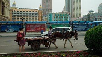 Город Маньчжурия в автономном районе Внутренняя Монголия, Китай