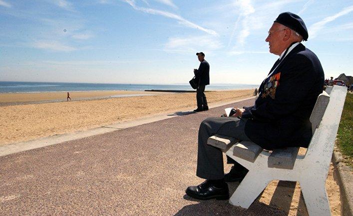 Норвежские ветераны Второй мировой войны Сверре Сольверсон и Трюггве Хансен
