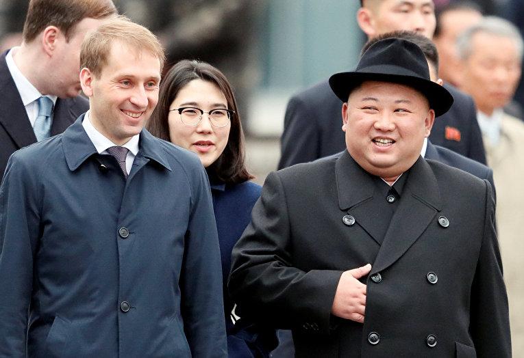 Ким Чен Ын во Владивостоке