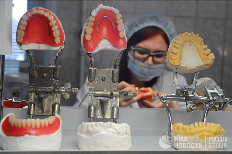 Работа стоматологической клиники