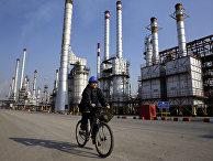 Нефтеперерабатывающий завод в Иране
