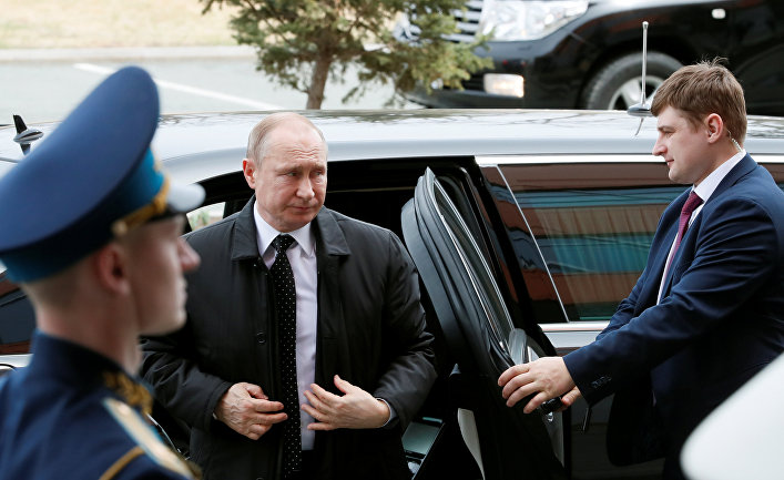 Президент РФ Владимир Путин во Владивостоке