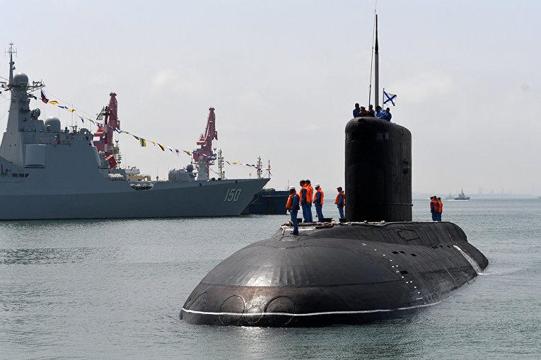 Подводная лодка ВМФ России