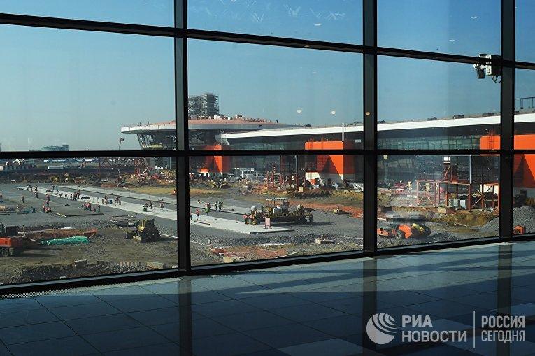 Ситуация в аэропорту Шереметьево