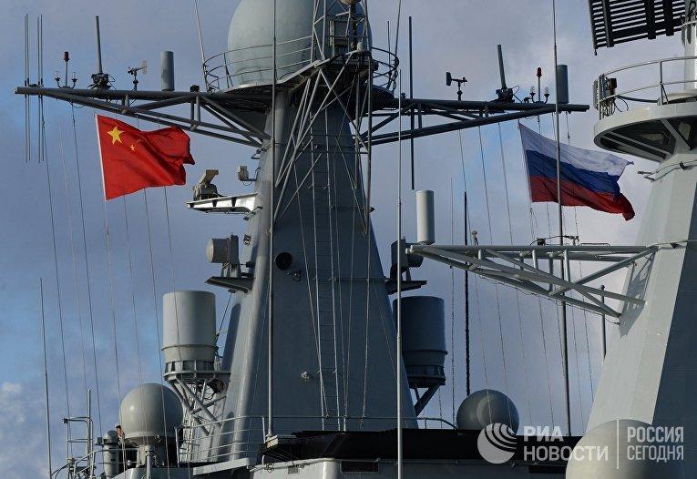"""Российско-китайские военно-морские учения """"Морское взаимодействие - 2017"""""""