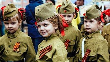 Детский парад Победы в Иваново