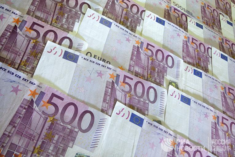Денежные купюры: евро