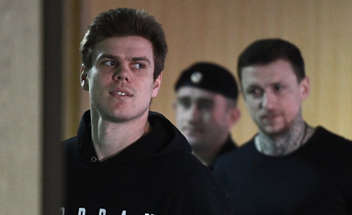 Заседание суда по делу П. Мамаева и А. Кокорина