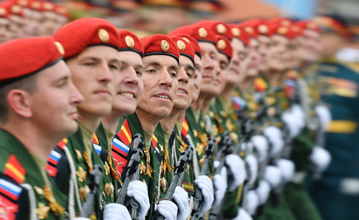 Военный парад, посвящённый 74-й годовщине Победы в Великой Отечественной войне